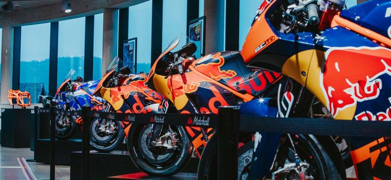 MotoGP™ Themenwelt in der KTM Motohall